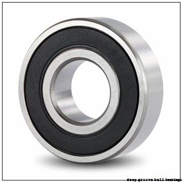 10 mm x 22 mm x 6 mm  ZEN SF61900 deep groove ball bearings
