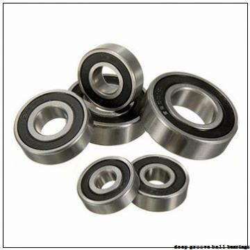 75 mm x 115 mm x 20 mm  ISO 6015-2RS deep groove ball bearings