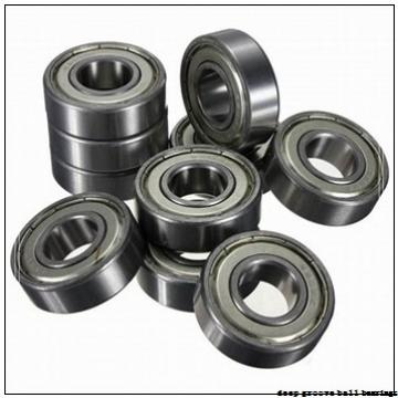 30 mm x 55 mm x 9 mm  ISO 16006 ZZ deep groove ball bearings