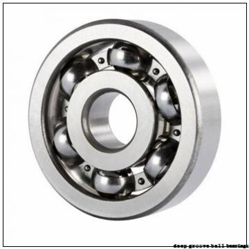 90 mm x 160 mm x 30 mm  NTN 6218 deep groove ball bearings