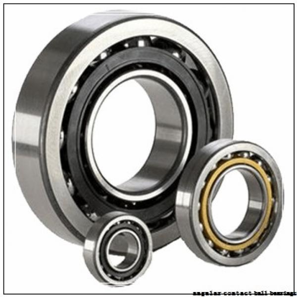 ISO QJ209 angular contact ball bearings #3 image
