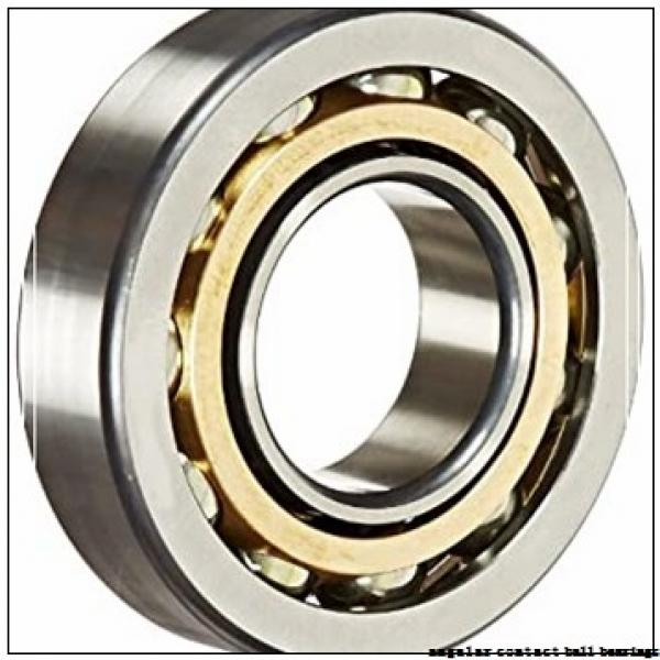 55 mm x 100 mm x 21 mm  ISB 7211 B angular contact ball bearings #1 image
