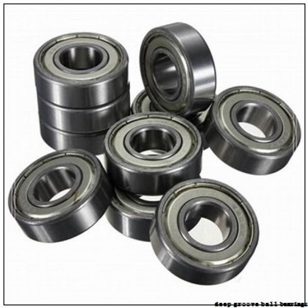 7 mm x 11 mm x 2,5 mm  NTN FL677 deep groove ball bearings #3 image