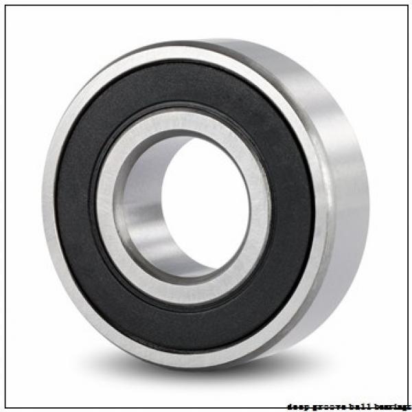 75 mm x 115 mm x 20 mm  ISO 6015-2RS deep groove ball bearings #1 image